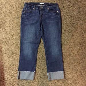 Ann Taylor Loft Cropped Jeans Sz 31/12 Gently Used
